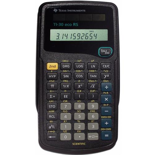 Texas Instruments TI-30 ECO RS rekenmachine