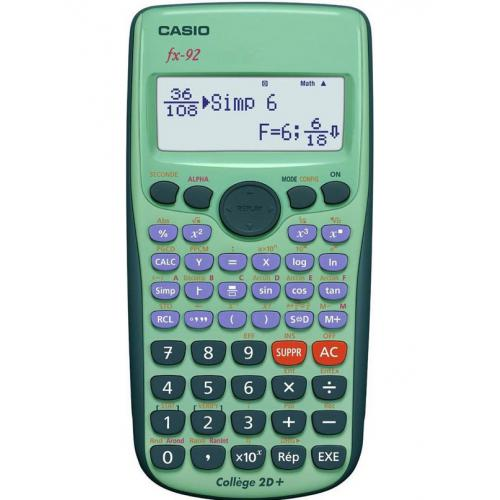 Casio FX 92 College 2D rekenmachine