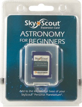 Celestron SkyScout SD card - Astronomy for beginners