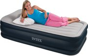 Intex Deluxe Pillow Rest Raised Bed Twin