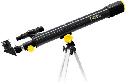 National Geographic 50/600 refractor telescope
