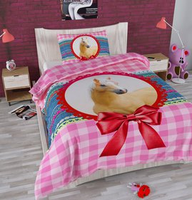 Dreamhouse Bedding For Kids Marielle Paard kinderdekbedovertrek