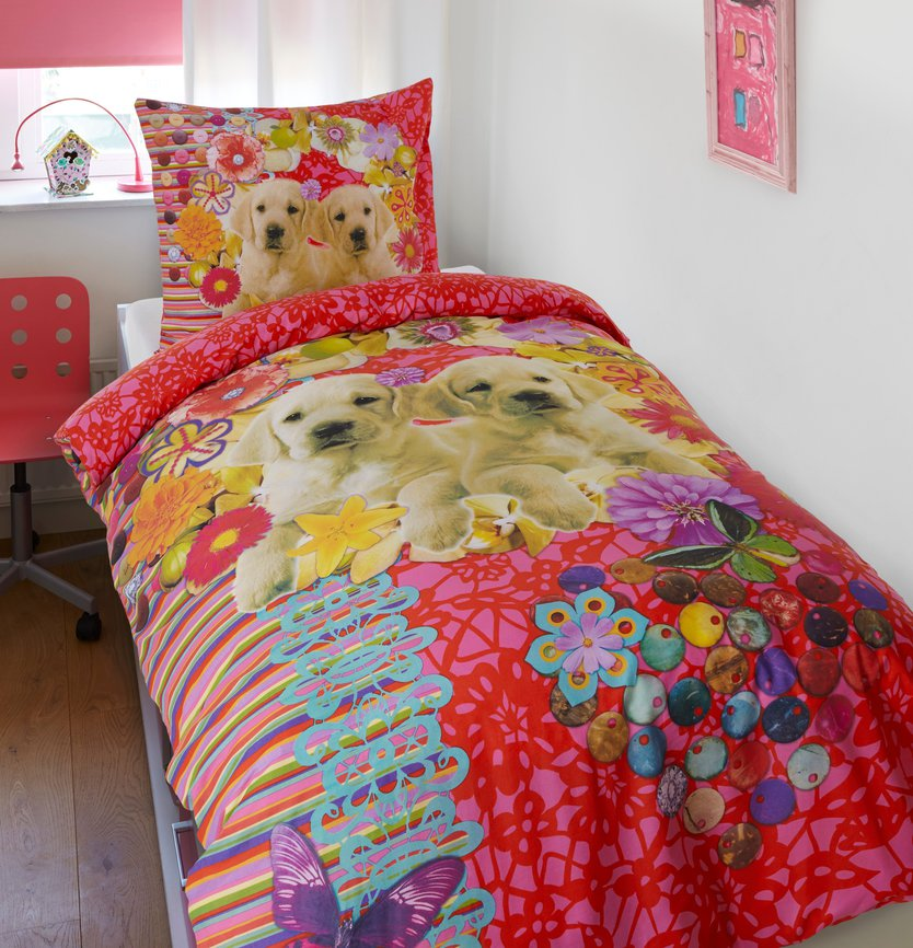 Dreamhouse Bedding For Kids Mila en Bella kinderdekbedovertrek