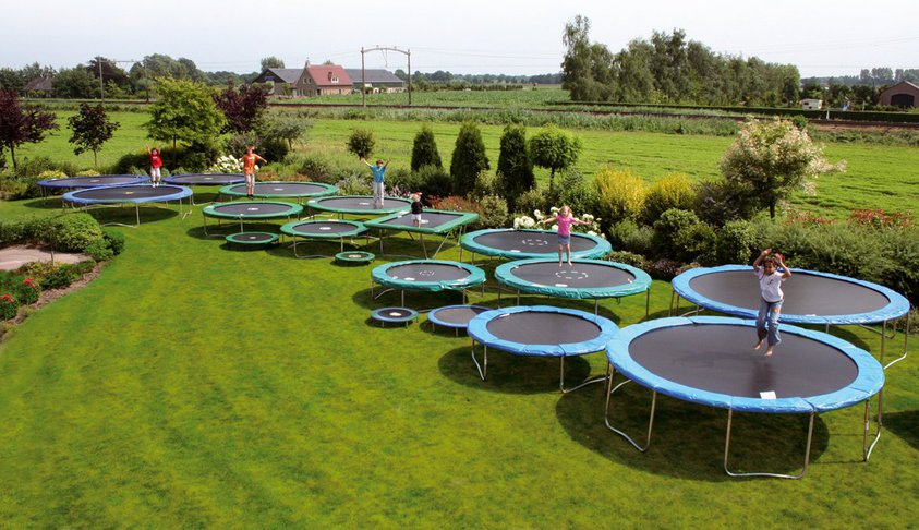 Alle trampolines