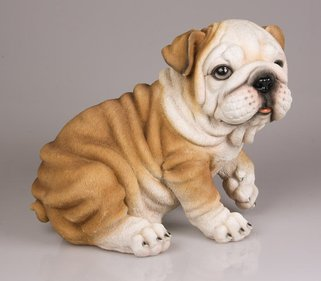 Farmwood Animals Engelse Bulldog tuinbeeld