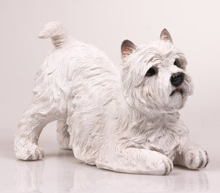 Farmwood Animals Westie tuinbeeld