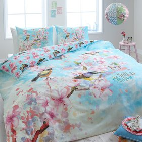 Dreamhouse Bedding Soft Birds dekbedovertrek