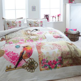 Dreamhouse Bedding Vintage Love dekbedovertrek