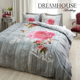 Dreamhouse Bedding Birds and Roses dekbedovertrek
