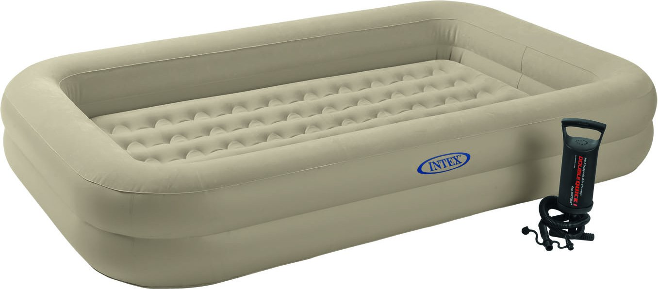 Trampoline bed for kids - Intex Kids Travel Bed Set Kinderluchtbed Kopen Luchtbed Expert Nl