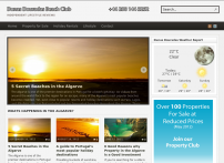 Dunas Douradas Beach Club Holiday Guide and Villas for Sale