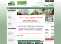 Premier Polytunnels UK, Polytunnel Accessories, Polytunnel Manufacturers, Polytunnel Suppliers