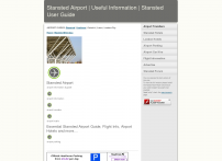 Stansted Airport | Stansted Information | Stansted Airport Guide