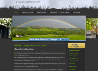 Holiday Cottages in Brecon Mid Wales - Alltybrain Farm
