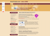 AriesTrade.com Network solutions for business websites, Add URL in Europe.