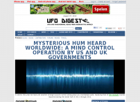 UFO DIGEST: UFO and Paranormal News From Around The World
