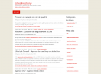 LiteDirectory :: Web Directory - Search Engine - Add URL