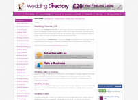 Free Wedding Directory UK, Wedding Directories, Wedding Cakes, Wedding Dresses