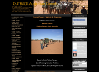 Outback Australian Camels Camel Safaris and Camel Expedition Training - OUTBACK Australian Camels