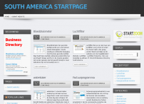 Southamerica Startpage