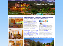 Fabulous Luxury Turkish Villa in Orhaniye, Turkey | Luxury Private Holiday Villa