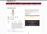 USB stick kerstman