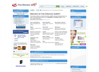 Free Directory Submit - Home Page