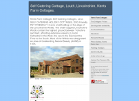Kents Farm Cottages    Self Catering Cottages, Lincolnshire