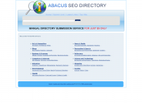 Abacus SEO Friendly Web Directory