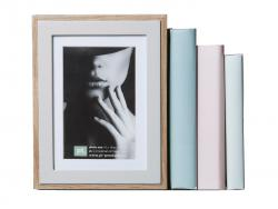 Present Time Book End & Photo Frame
