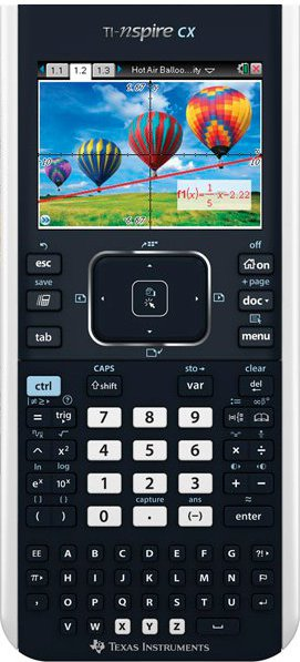 Texas Instruments TI Nspire CX rekenmachine