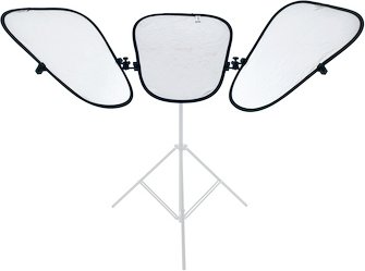Lastolite TriFlector MkII Reflector Silver/White Kit 2933SW