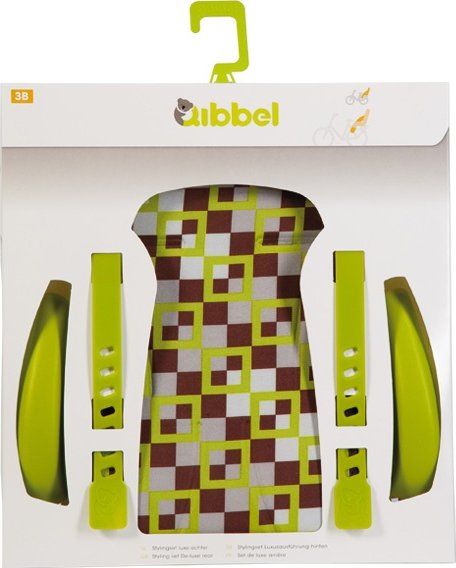 Qibbel Stylingset Luxe Achterzitje Checked