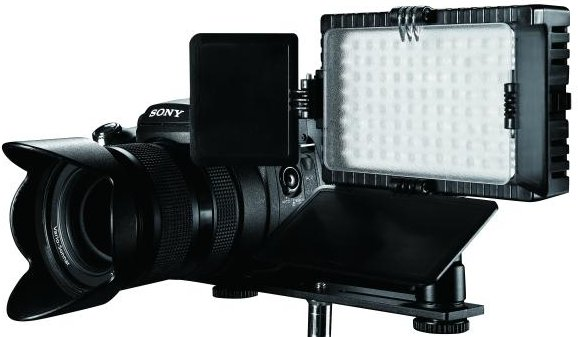 Falcon Eyes LED Lamp Set Dimbaar DV-96V-K1