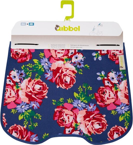Qibbel Windschermflap Blossom Roses