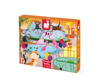 Janod Zoo tactile puzzle