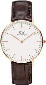 Daniel Wellington Classic York Rose 36mm klocka