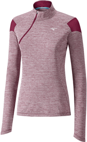 Mizuno Alpha Long Sleeve Half-Zip damer