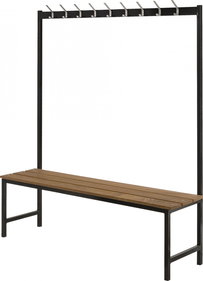 Snip wardrobe rack with couch