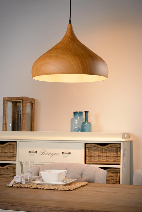 Lucide - WOODY - Hanglamp - 76360/01