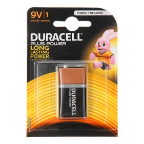 Duracell Plus Power 9V MN1604