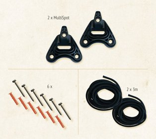 La Siesta Hammock fixing set