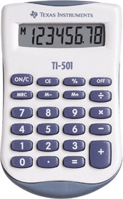 Texas Instruments TI-501 calculator