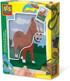 SES Embroidery horse
