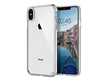 Spigen iPhone Xs Max Case Ultra Hybrid Crystal Clear hoesje