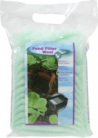 VT Pond Filter Wool Green