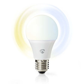 Nedis Wi-fi smart LED-lamp - Warm tot Koud-Wit