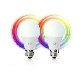 Nedis Smart LED lampen  Full-Colour en Warm-Wit