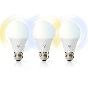 Nedis Wi-Fi smart LED-lampen - warmwit/koudwit