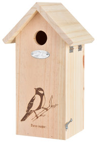 Best for Birds Great tit silhouette birdhouse